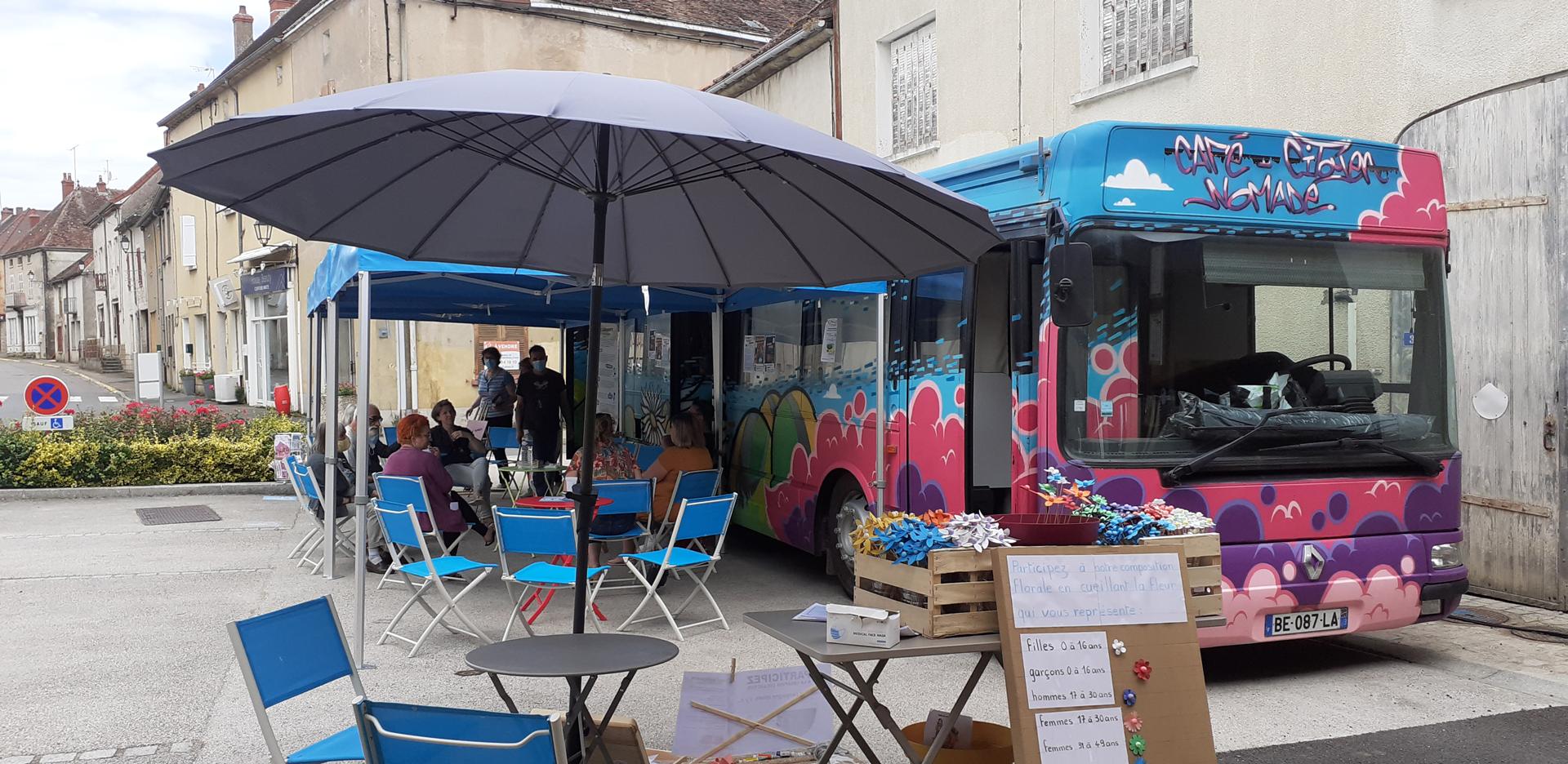 Chez Marguerite – Café Citoyen Nomade – Burzy